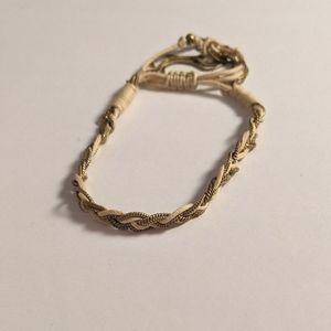2/$20 Braided Chain & String Adjustable Bracelet